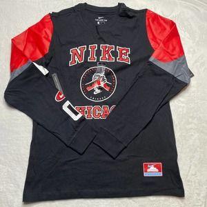 Nike Men's Chicago Long Sleeve Shirt Size L